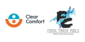 Fossil Creek Pools and Clear Comfort Announce Partnership Offering the Ultimate Swimming Pool Experience