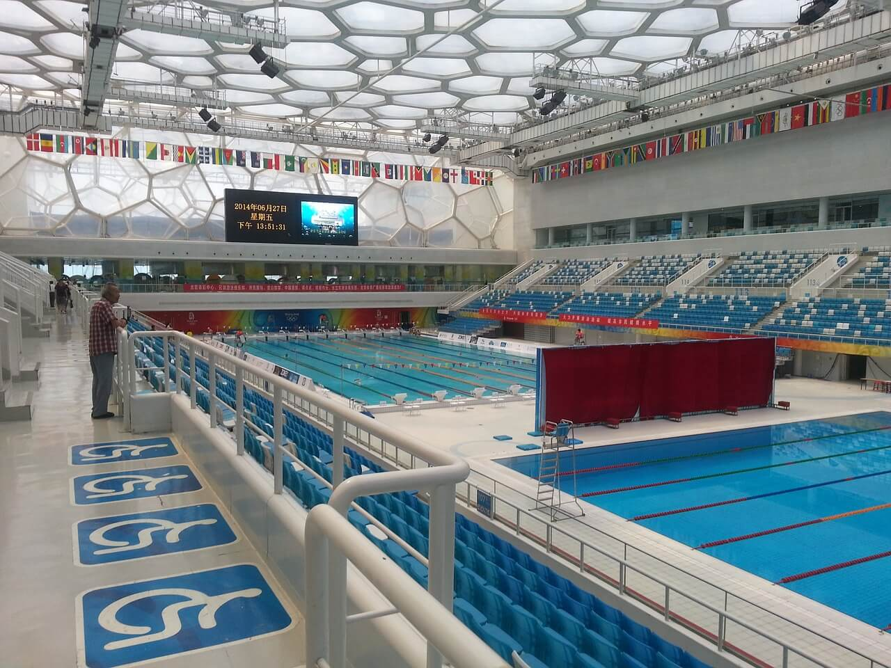 pool size comparison olympic size 25 meter 25 yard - Olympic Size Swimming Pool Dimensions