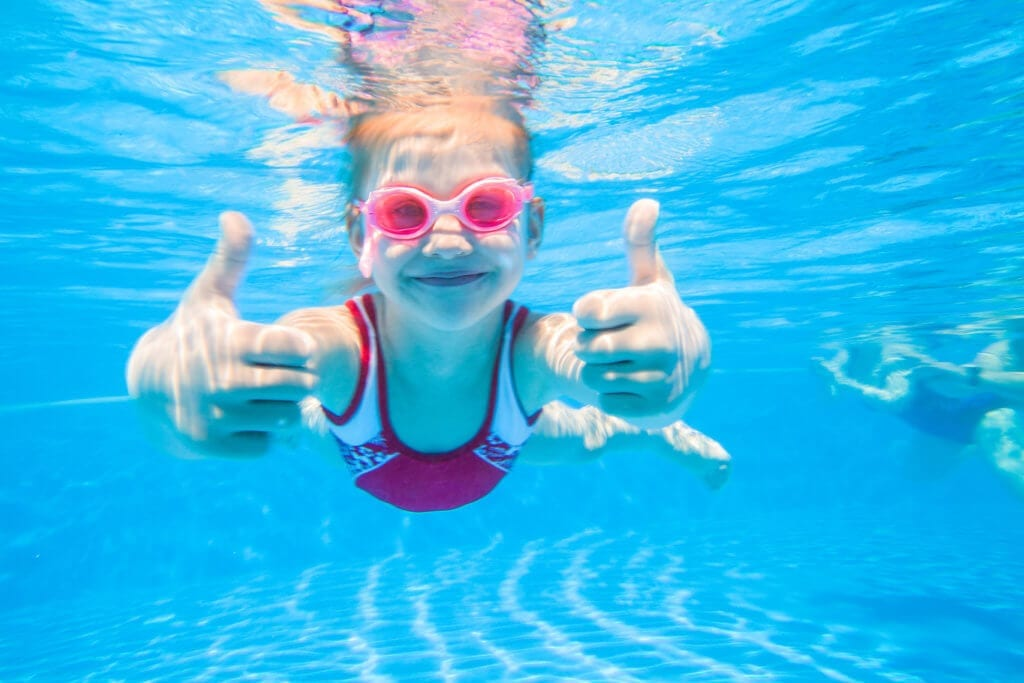 Pool disinfection byproducts