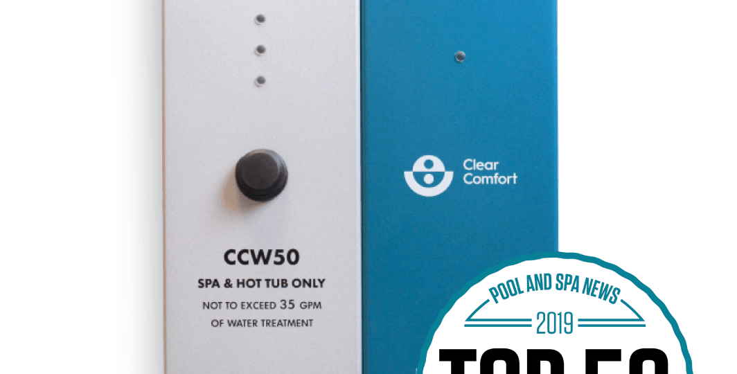 Clear Comfort CCW50 Top 50 Product By PSN | Pool & Spa News