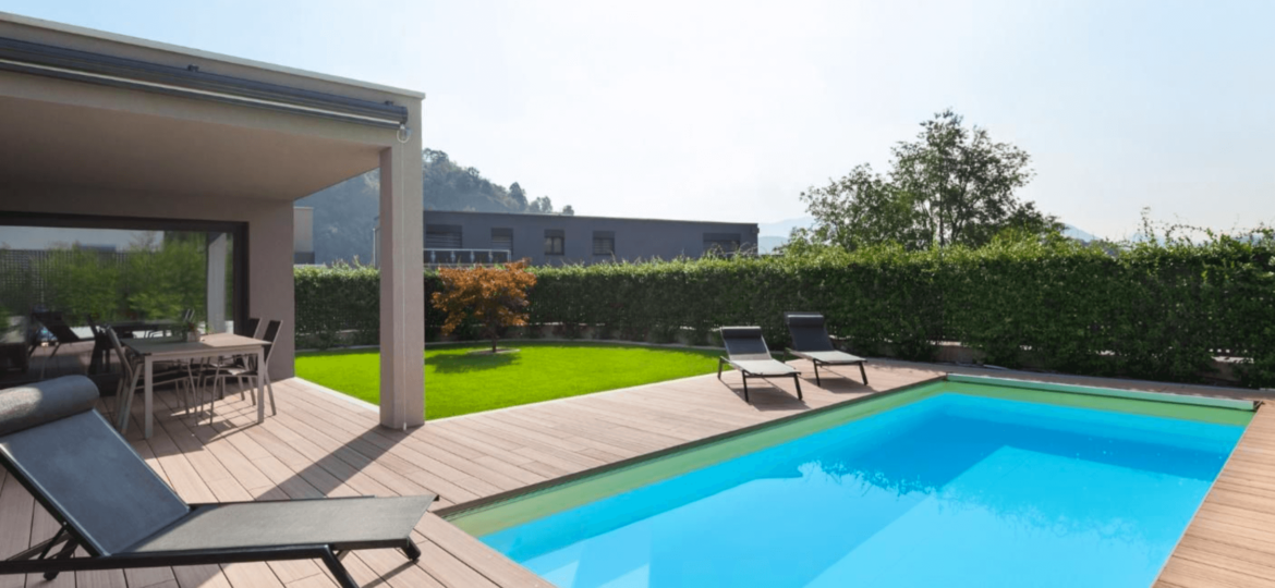 Patio Design Ideas for Pools Owners   Clear Comfort