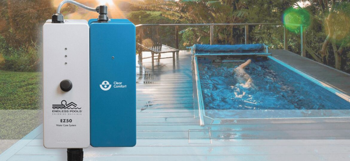 Endless Pools EZ50 Water Care AOP System Powered by Clear Comfort's AOP